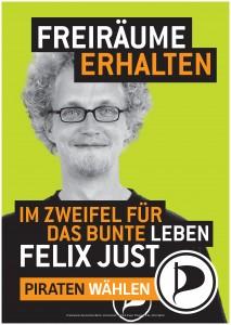 Felix Just Direktkandidat in Friedrichshain 6