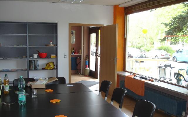 Das Bezirksbüro Reinickendorf - Innenansicht