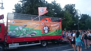 Piraten Truck Hanfparade 2015